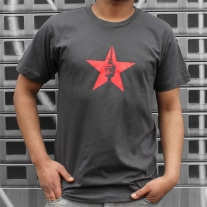"Stuttgart Shirt ""Star"" in grau"
